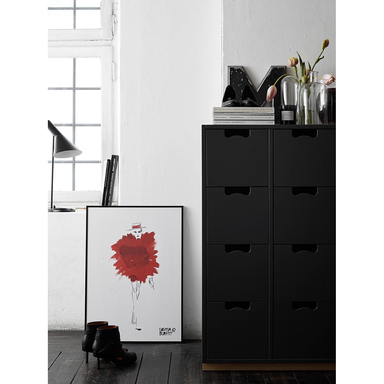 Mlle fatale rouge pouf poster Рlovisa burfitt Рk̦p online p̴ ...