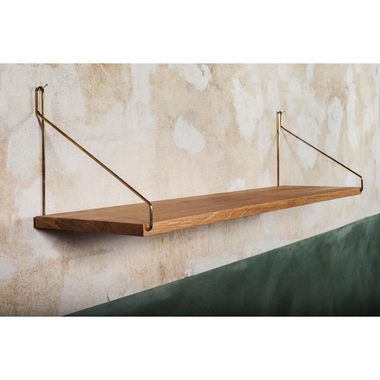 Shelf 80 hylla, mässing – frama – köp online pÃ¥ rum21.se