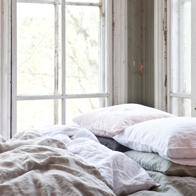 Washed linen ̦rngott 50x60, m̦rkgr̴ Рtell me more Рk̦p online p̴ ...
