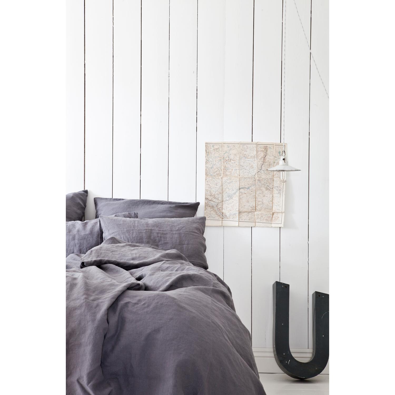 Washed linen kuddfodral 65x65, m̦rkgr̴ Рtell me more Рk̦p online ...