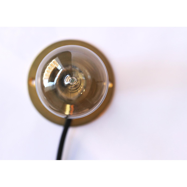 Wall frama lampa, mässing – frama – köp online pÃ¥ rum21.se