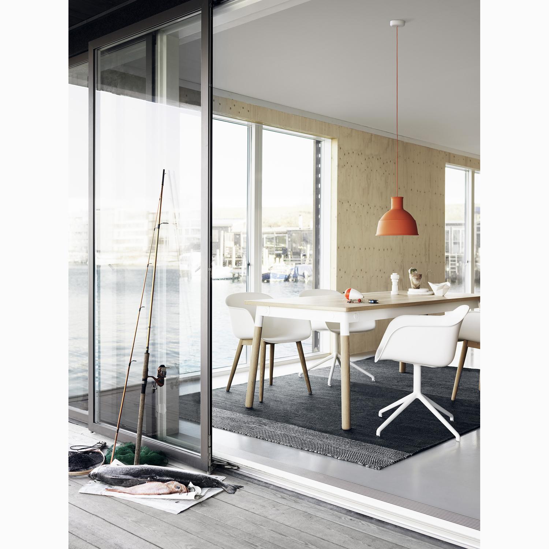 Fiber chair swivel, vit Рmuuto Рk̦p online p̴ rum21.se
