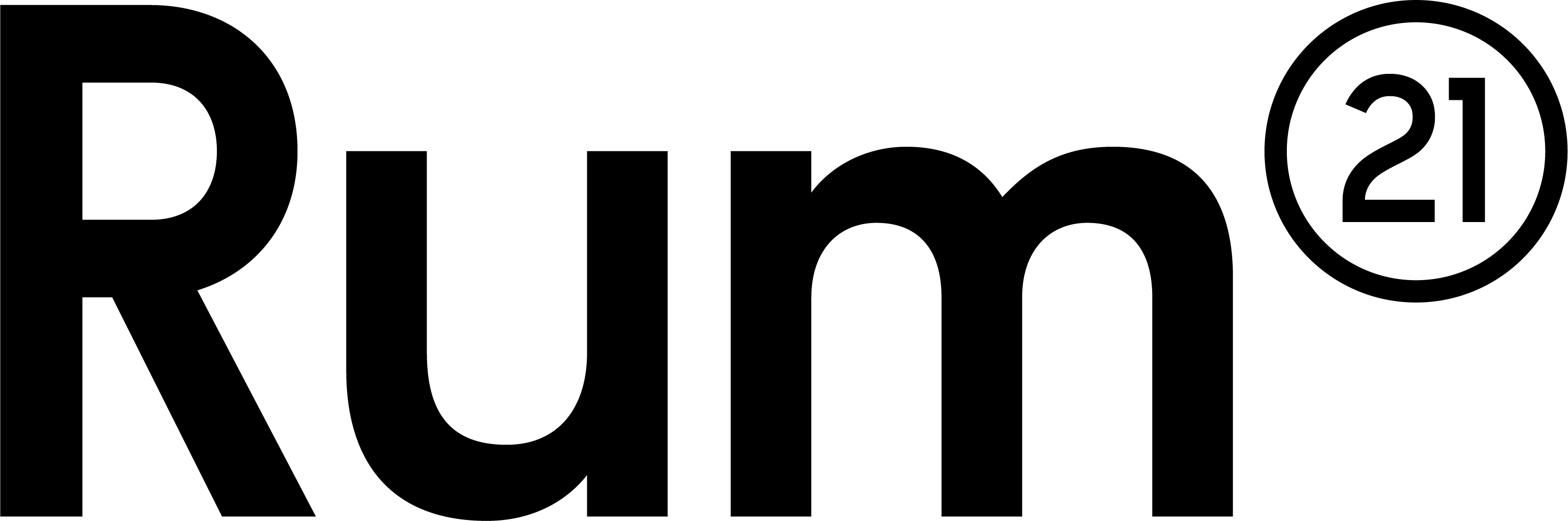 Rum21 logotype desktop