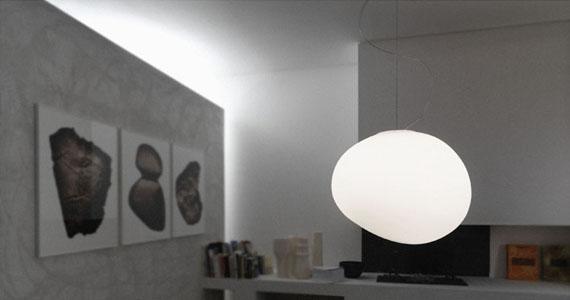 Golvlampor På Nätet : Foscarini köp på rum