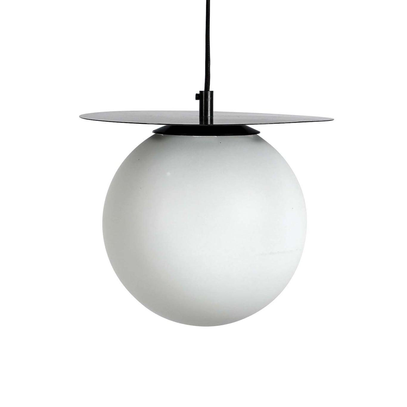 Lush Globe Taklampa 27x22 cm, Svart